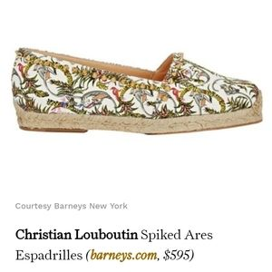 Authentic Christian Louboutin 'Ares' Jungle Shoes
